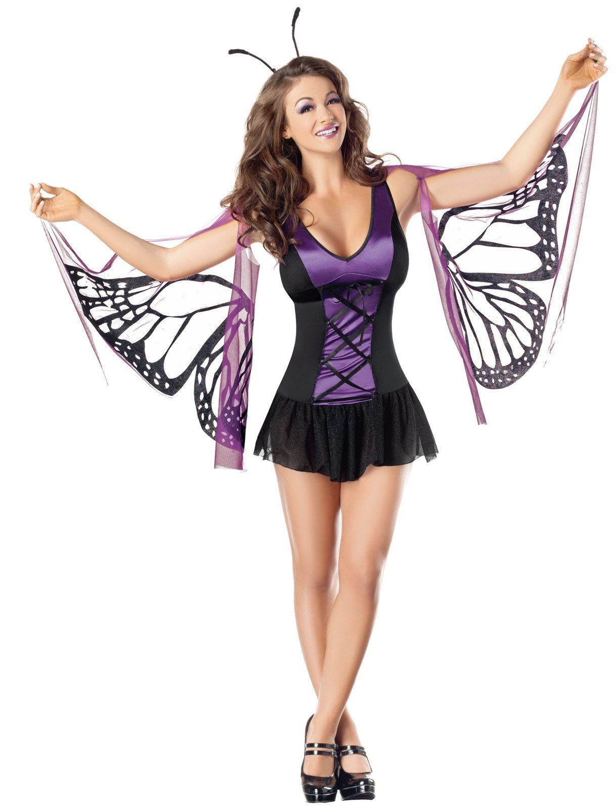 a6d15c911cf Sexy Mystical Purple Butterfly Adult Costume,$49.99   Costumes ...