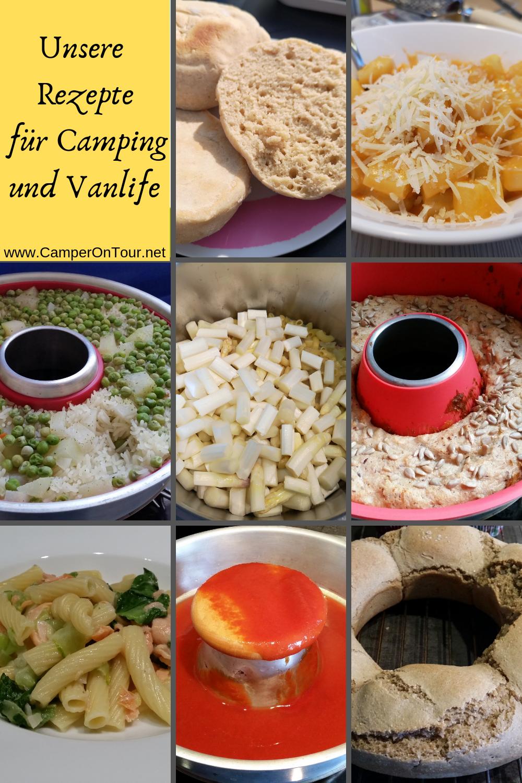 9d5382a19f Auf unserem Camping Portal unter der Rubrik Rezepte findes du jede Woche  Mittwochs ein neues leckeres