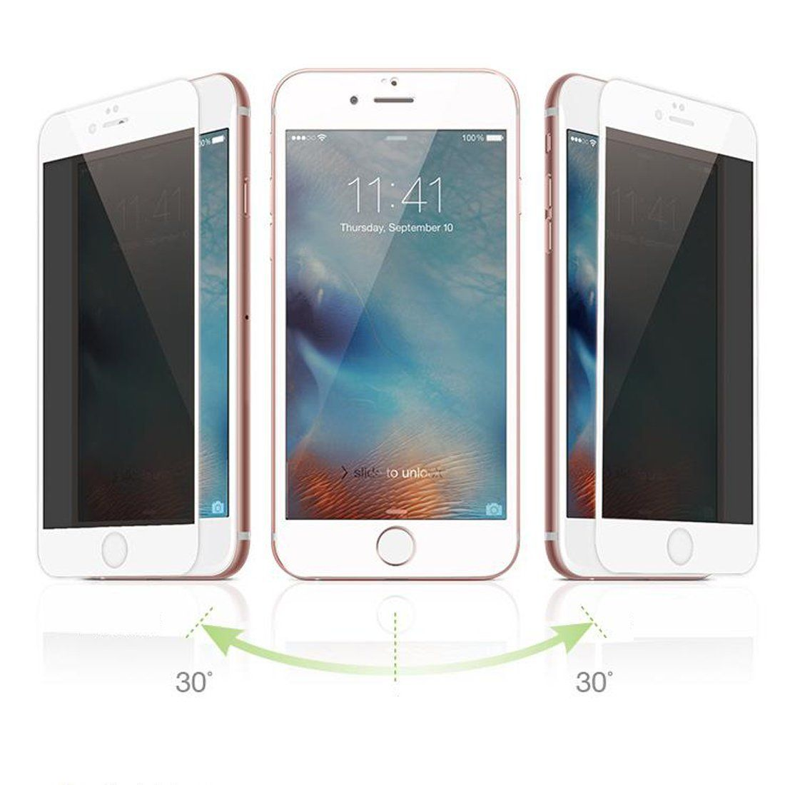 Screen Protector and Anti-Bubble Film IQ Shield Matte Full Body Skin Compatible with Apple iPhone 6s + Anti-Glare iPhone 6 4.7 inch Updated Version Full Coverage