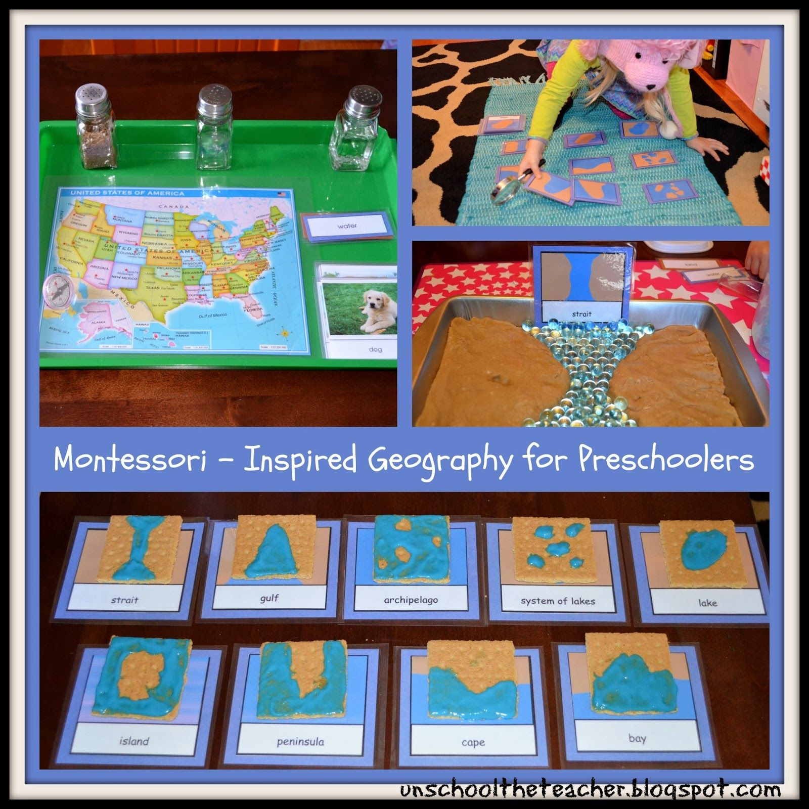Intro to Geography - Landforms from Unschool the Teacher | Unit ...