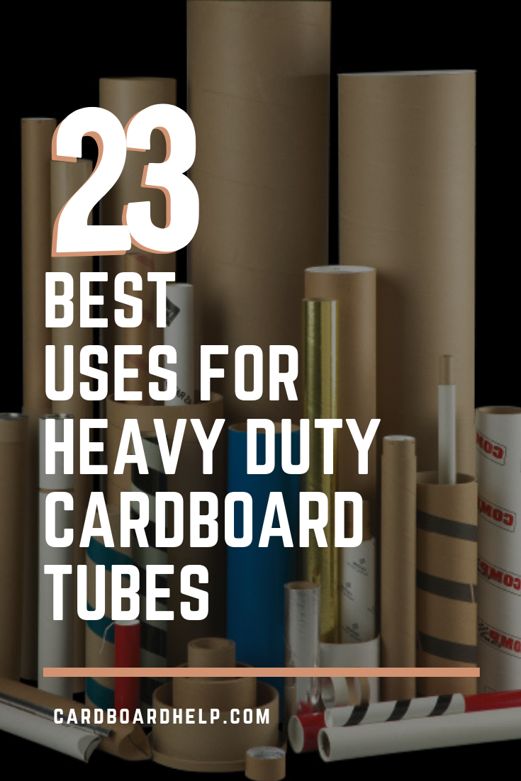 23 Best Uses For Heavy Duty Cardboard Tubes Cardboard Tube Crafts Cardboard Tubes Cardboard Crafts