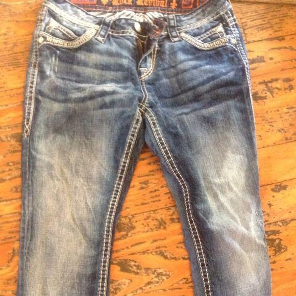 Rock revival Size 27 rocks Jeans
