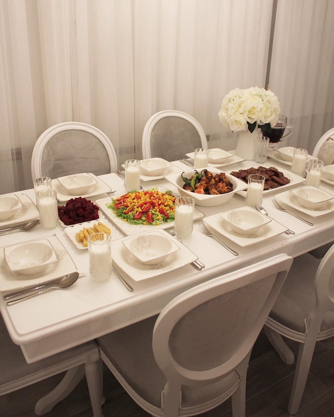 Dinner Table Kitchen Decor Dinnerideas Dinnerisserved