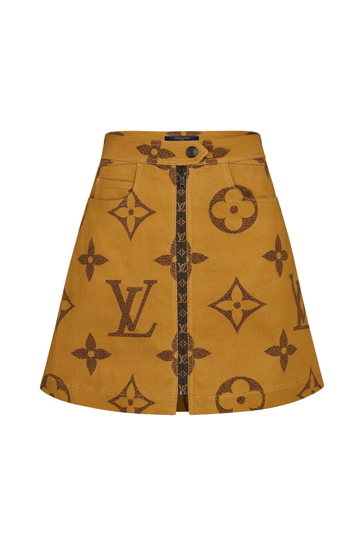 992ef6355d Monogram Giant Print Skirt in 2019   style   Louis vuitton, Printed ...