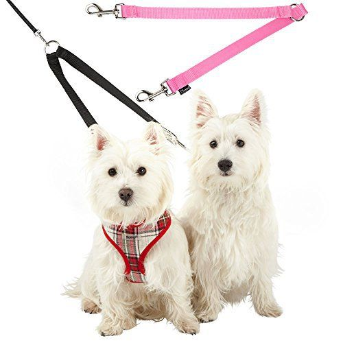 Bunty Double Dog Pet Lead Leash Splitter Coupler With Clip For