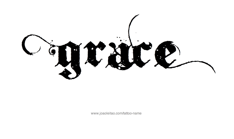 Grace Grace Name Tattoo Tattoo Design Name Grace Name Tattoo Name Tattoos Grace Name