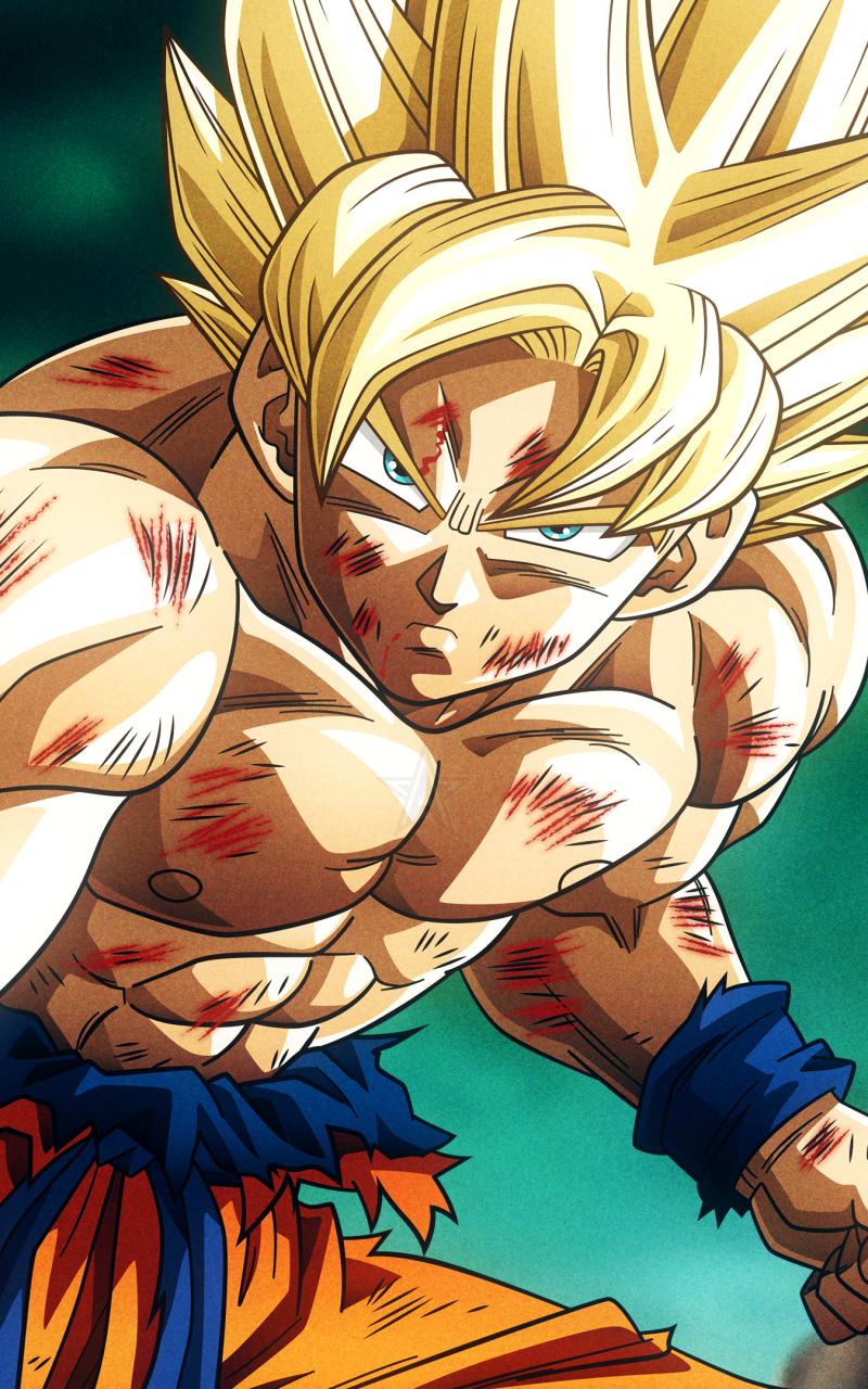 Goku Goes Super Saiyan For The First Time Google Search Anime Goku Super Saiyan Wallpapers Dragon Ball