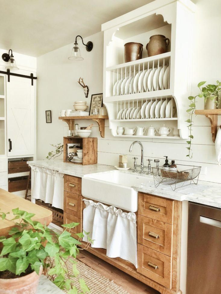 Photo of A Closer Look at Whitetail Farmhouse, This Year's Best Kitchen Organization Project – The Organized Home