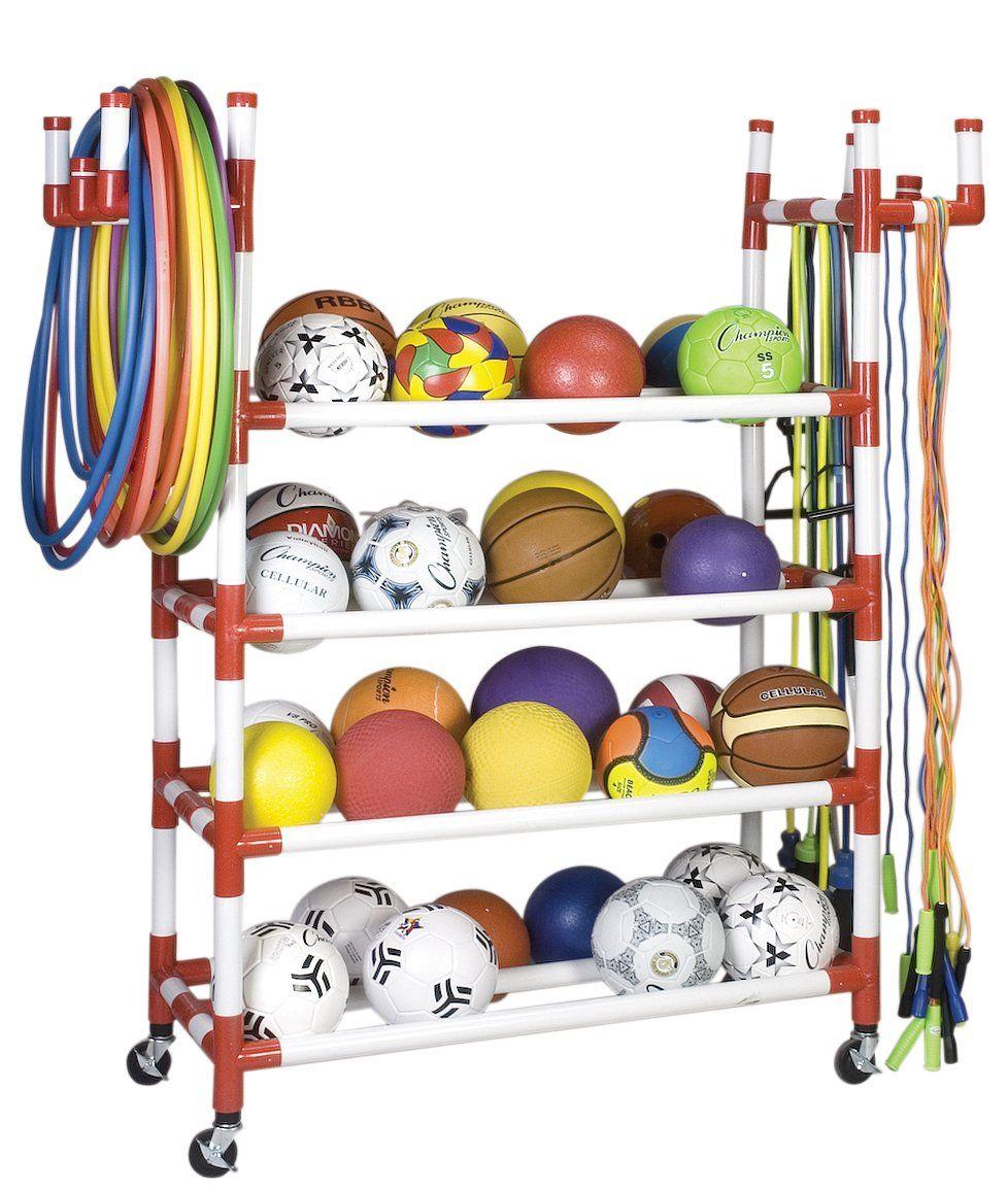 Garage Sports Organizer: Champion Sports Equipment Cart