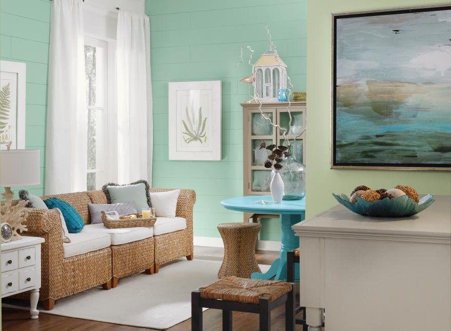 Warna Rumah Biru Laut