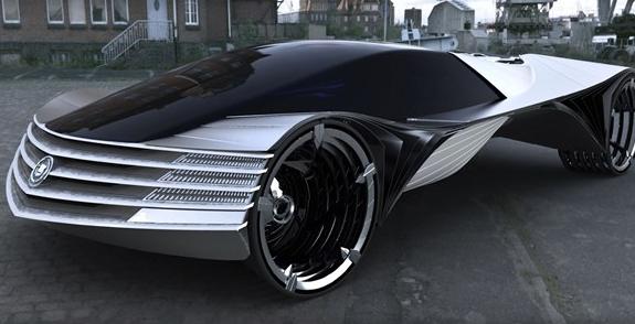 Cadillac World Thorium Fuel Concept Car Cadillac Plopped This 24
