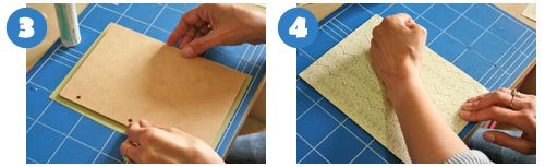 Sticking paper to BTP projects - steps 3 and 4