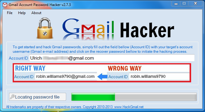 Everything You Need To Hack Gmail Passwords is Here