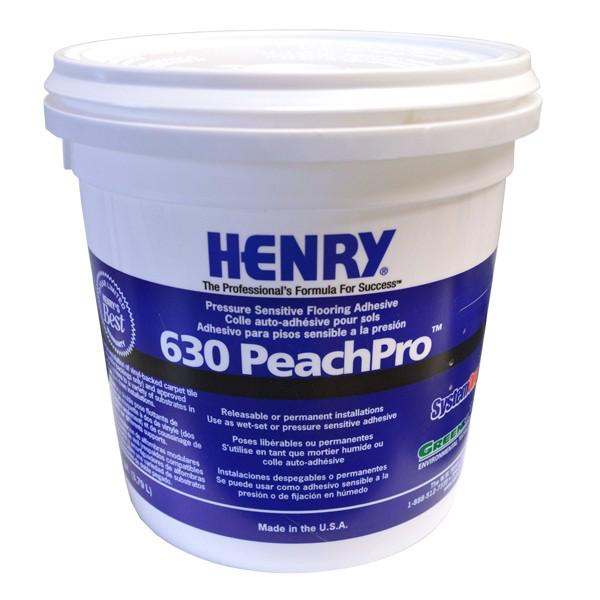 Henry 630 Peachpro Pressure Sensitive Adhesive Gallon Adhesive Pressure Sensitive Adhesive Flooring