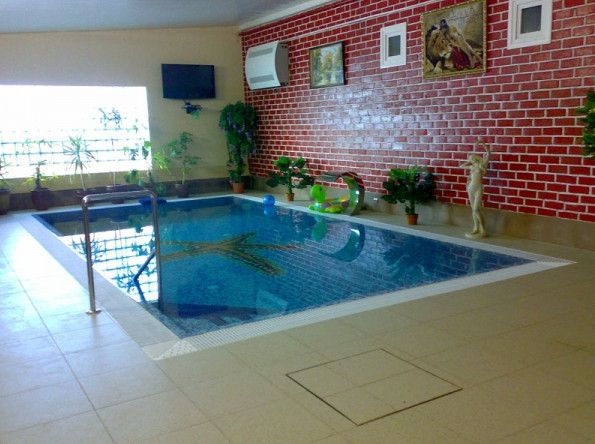 Small Indoor Pool Cost | Pools & Backyards | Pinterest | Small ...