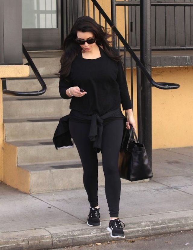huge discount 0f50f 84c65 Kim Kardashian wearing Nike Free Run 3