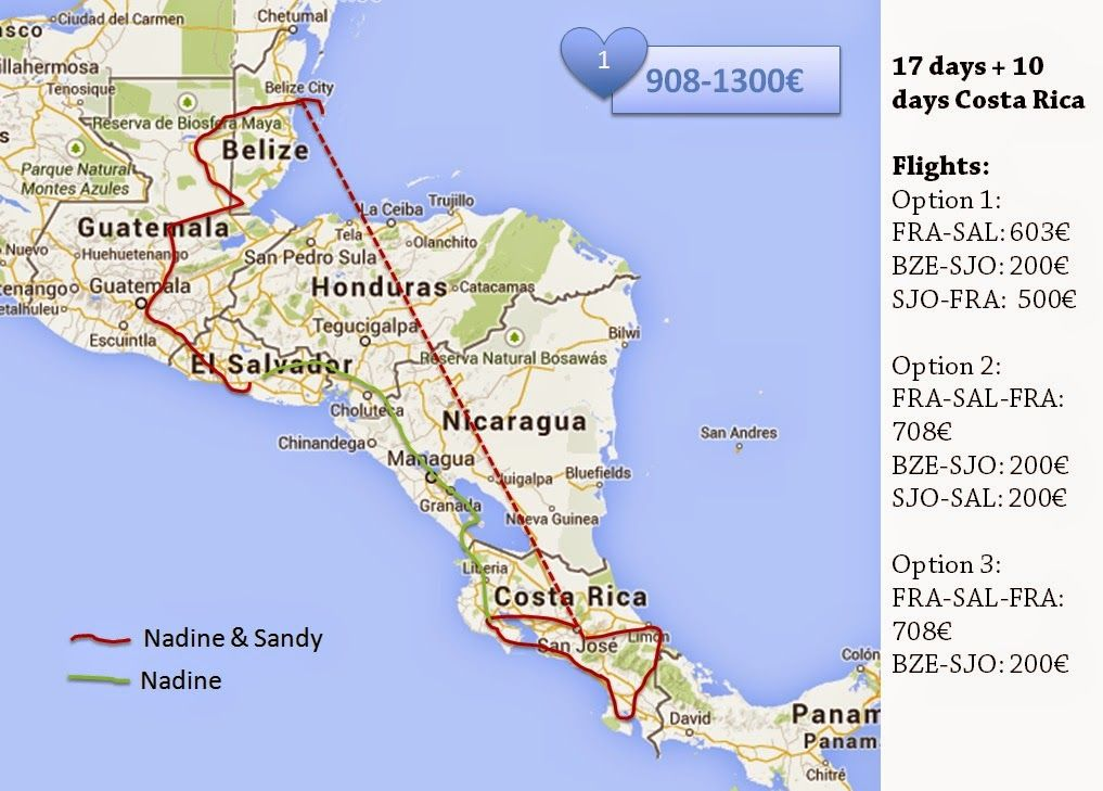 6 Steps to Your Very Own Backpacking Adventure - Itinerary for 27 days in Central America | The Sweetness of Traveling