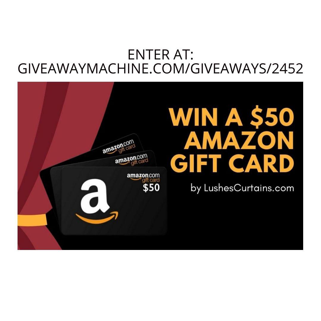 3x 50 Amazon Gift Card Giveaway Amazon Gift Cards Amazon Gifts Gift Card