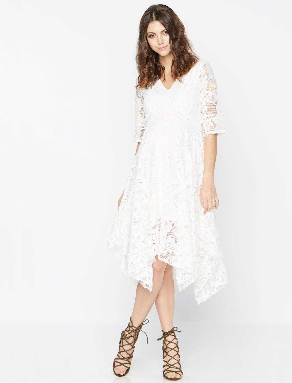 A pea in the pod taylor lace maternity dress maternity style a pea in the pod taylor lace maternity dress ombrellifo Choice Image