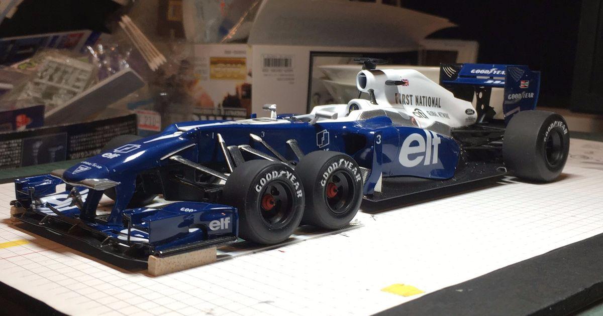 Tyrrell P34 Formula 1 Car