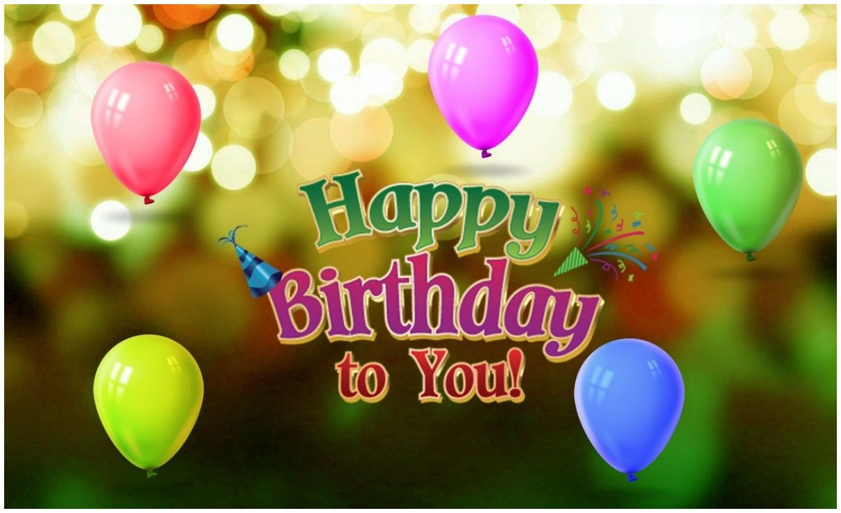 Happy Birthday Hd Wallpaper For Desktop Happy Birthday Wallpaper Happy Birthday Images Happy Birthday Wishes Images