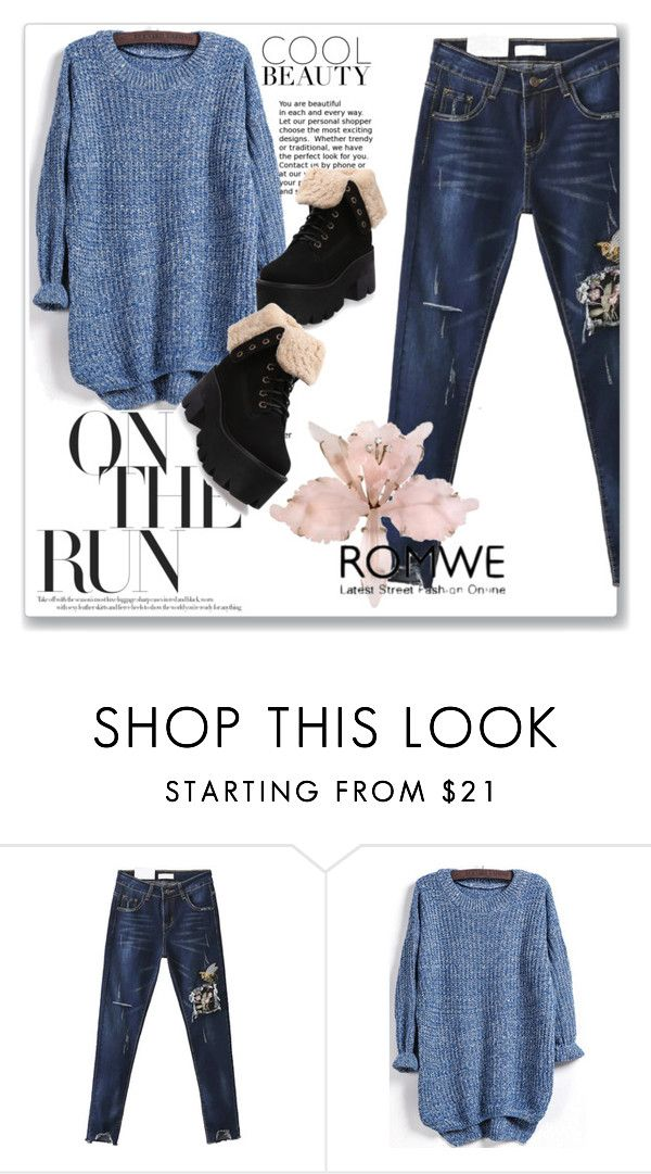 """romwe 5."" by igor89 ❤ liked on Polyvore featuring WithChic and romwe"