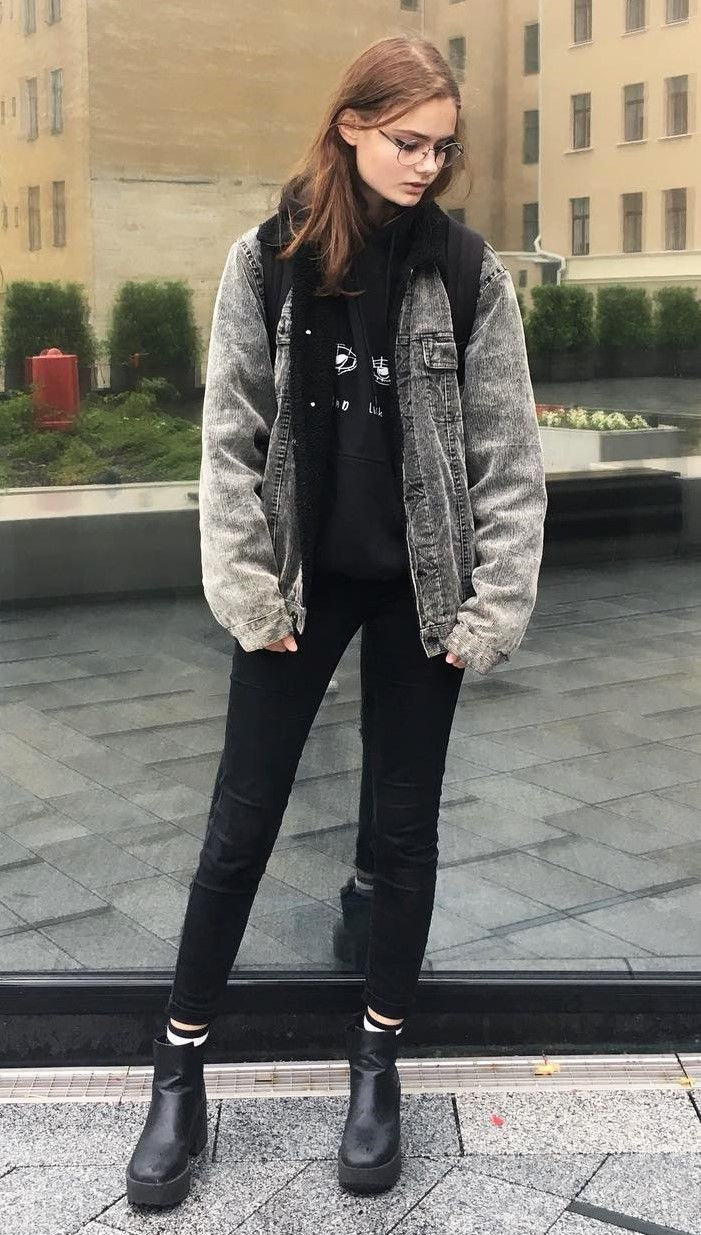 38 Street Style Grunge Looks To Wear Right Now | Grunge ...
