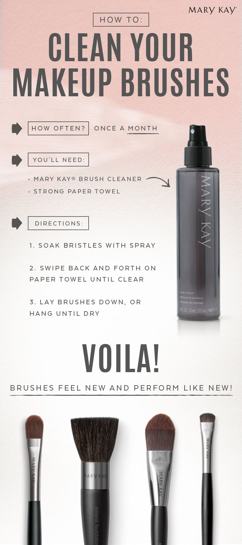Wondering how to clean your makeup brushes? We