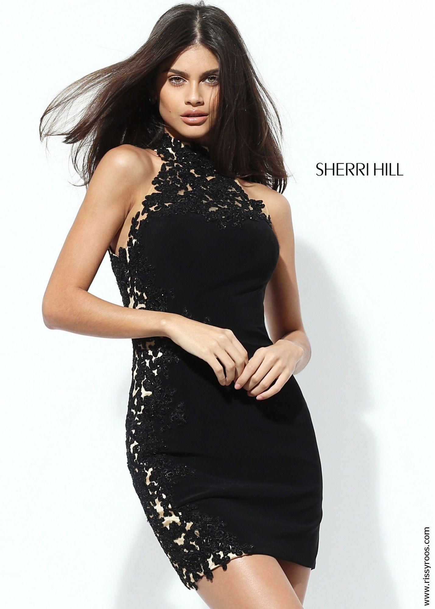 Sherri hill high neck lace dress dress it pinterest