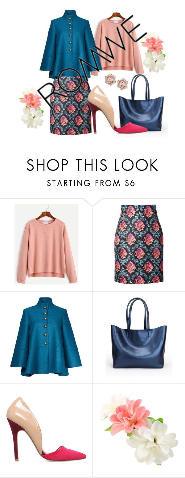 """romwe"" by delmode ❤ liked on Polyvore featuring Mary Katrantzou, Nanette Lepore and Miss KG"