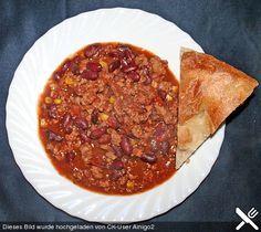 Chili con carne mexikanisch (Rezept mit Bild) von Sonja   Chefkoch.de