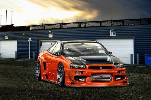 2014 Nissan Skyline GTR Racing Car Wallpaper HD