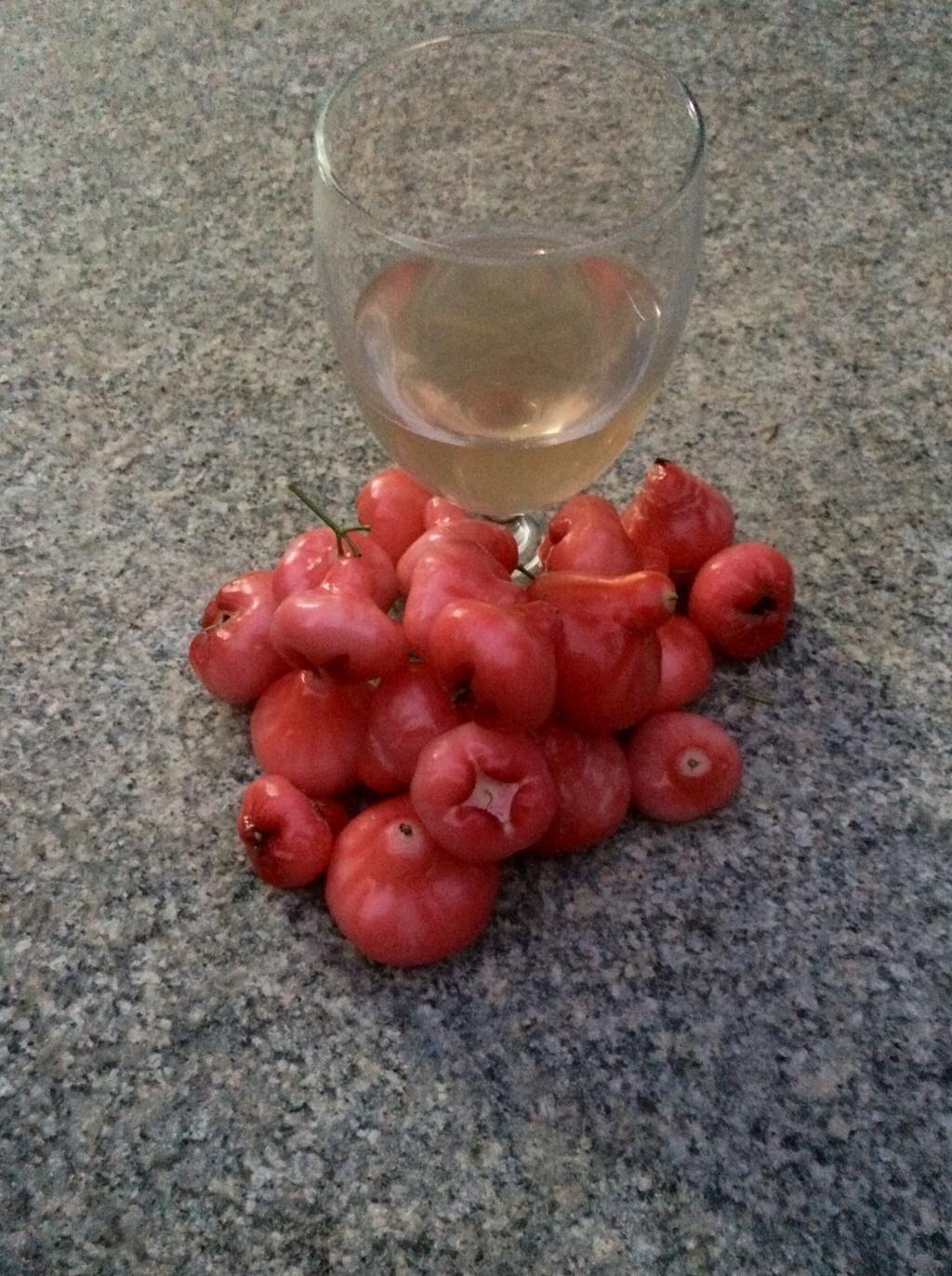 Rose Apple Chambakka Wine Recipe Wine Recipes Apple Roses Apple Wine