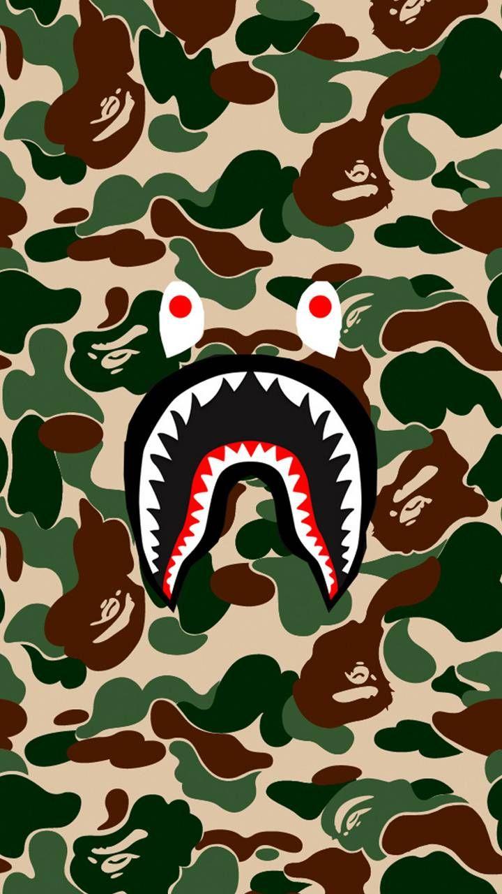 Bape Iphone Wallpaper Bape Wallpaper Iphone Bape Wallpapers Bape Shark Wallpaper