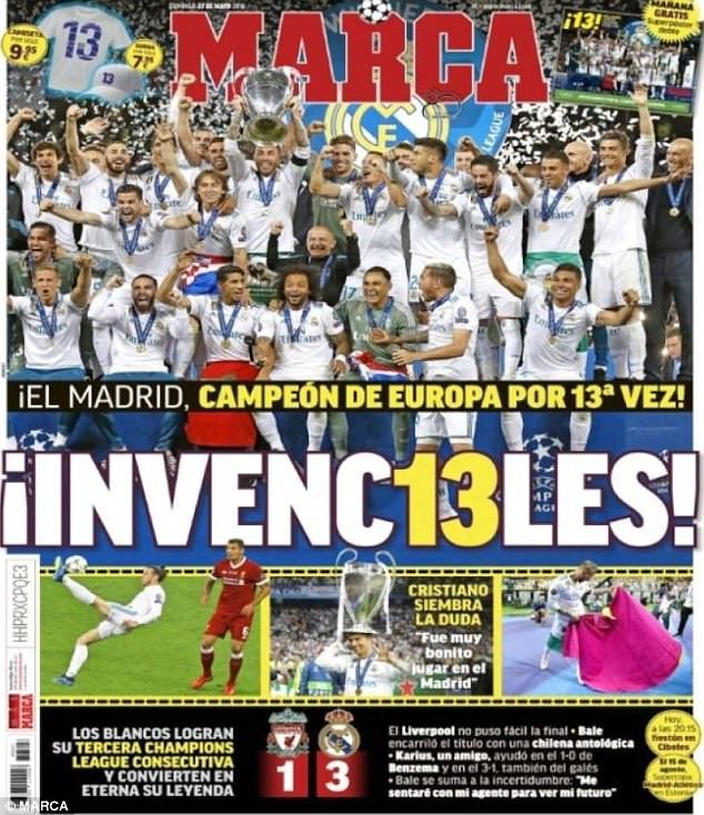 Spanish papers react to news Cristiano Ronaldo could leave
