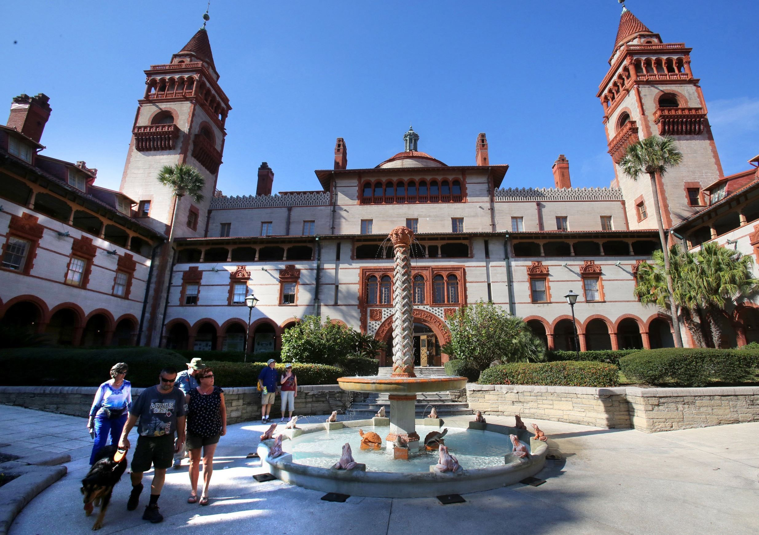 Historic Flagler College in St. Augustine, Fla. - Joe Burbank/Orlando Sentinel/MCT