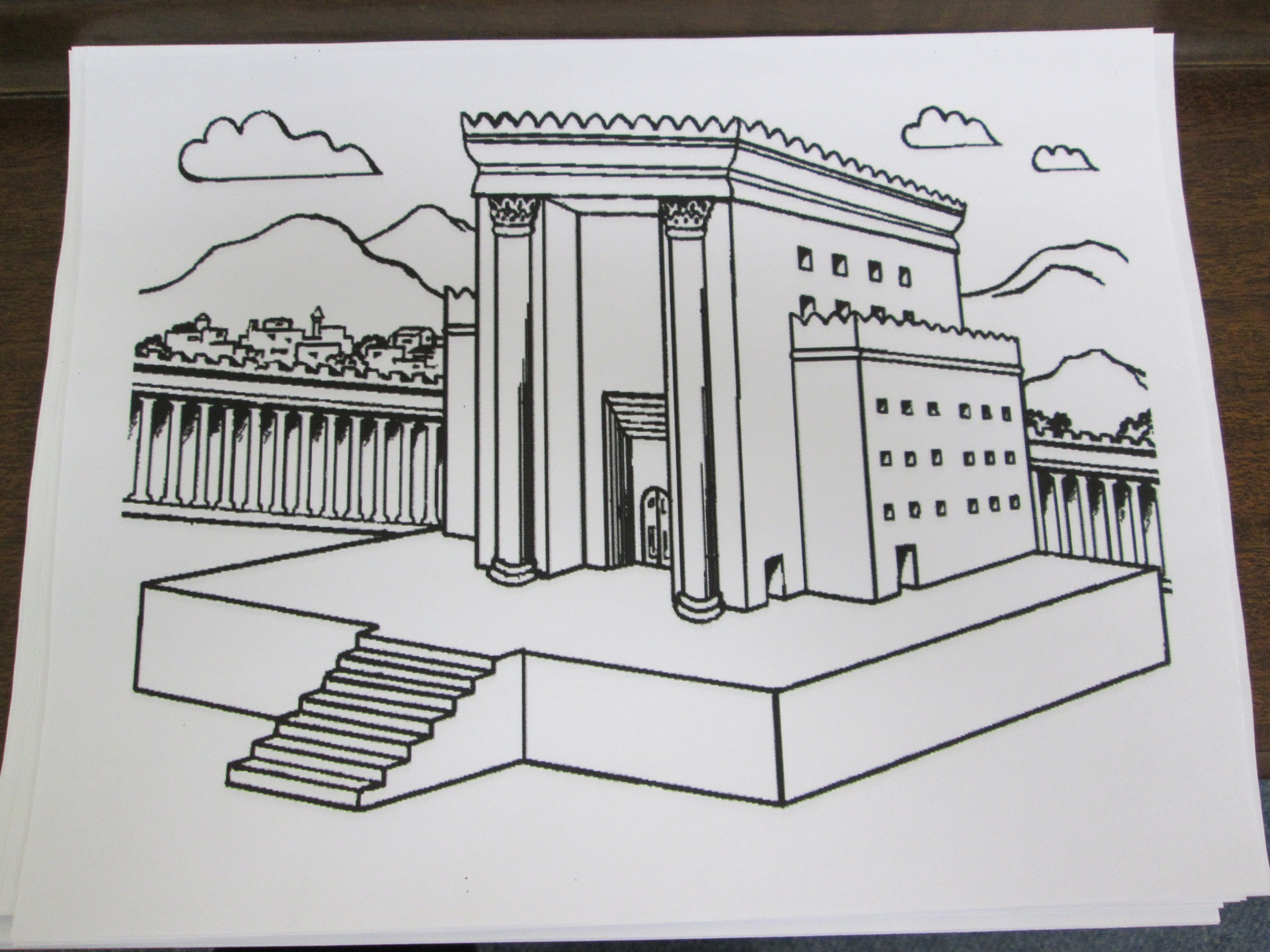 Rebuilding The Temple 2