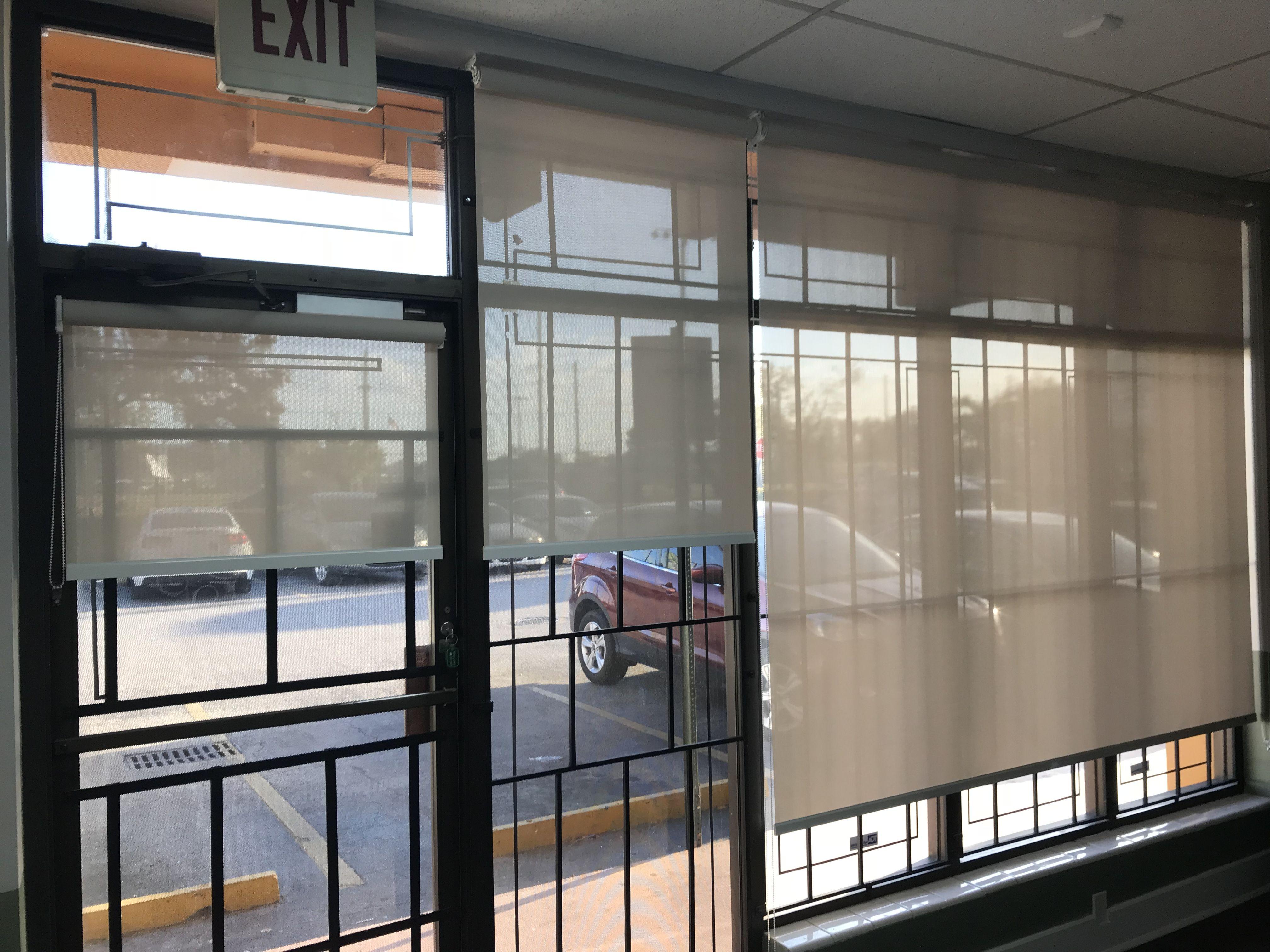 Storefront Windows By Elite Decor Miami Blinds For Windows Blinds For French Doors Blinds