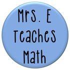 Check out my Pinterest teaching boards at http://www.pinterest.com/mrseteachesmath/...