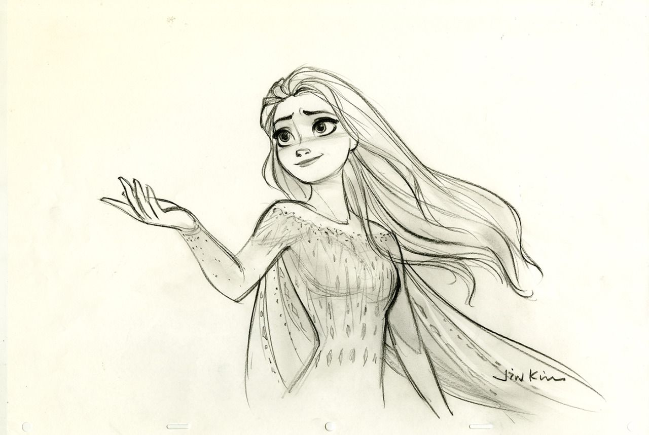 Elsa By Https Www Deviantart Com Mayursingh007 On Deviantart Disney Princess Drawings Disney Princess Sketches Disney Drawings Sketches