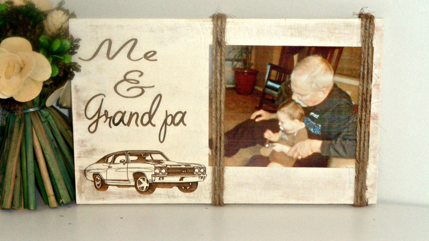 Father\'s Day Gift Grandpa and Me Picture Frame, Grandpa Grandpa Gift ...