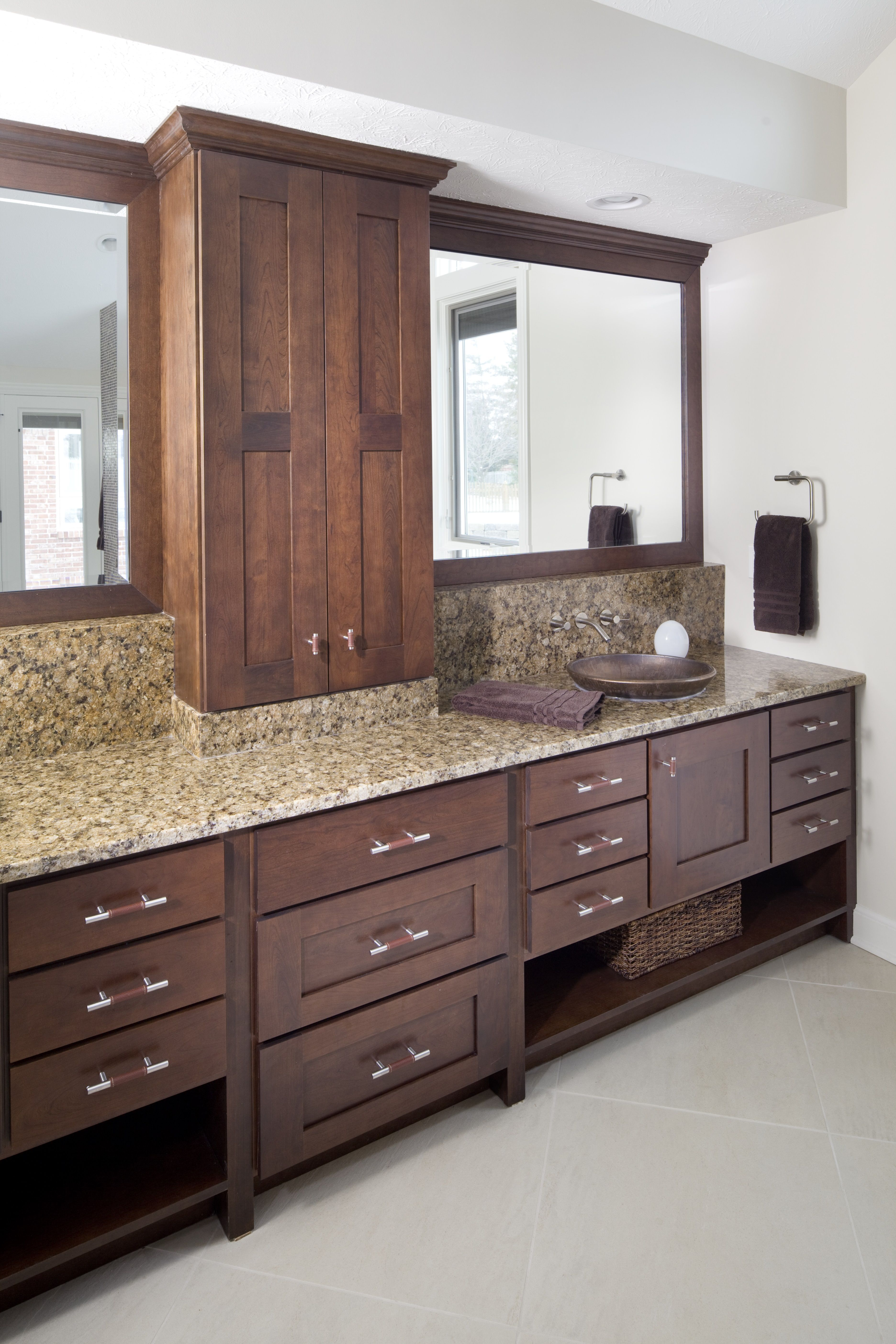 Master bathroom Kitchens by Design, Indianapolis. www