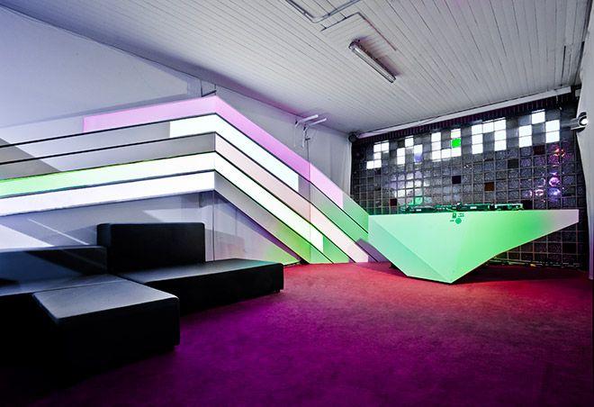 "Space Interactive Installation ""Lightrails"" - By Strukt"
