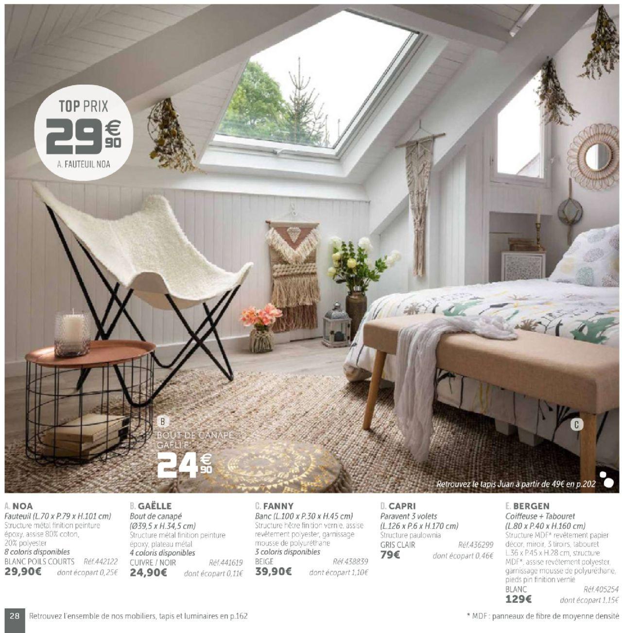 Prospectus Gifi Mobilier Formulaire Valide 01 08 2018 Nombre De Page 28 Meuble Deco Mobilier De Salon Maison
