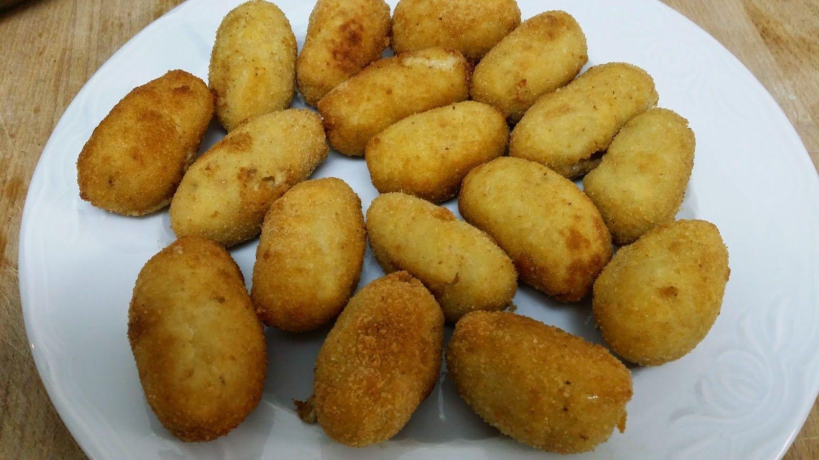 milu: Croquetas de pollo