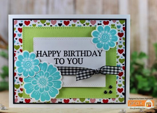 Sorry! We're under maintenance. #fridayfunday Stamp Tv Kit - Friday Funday Tutorial - Pattern Paper and Layered Die Cuts - stampTV #fridayfunday