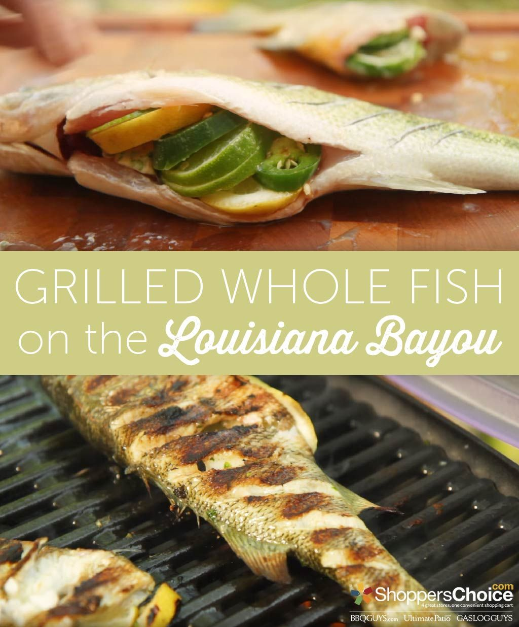 Grilled Whole Fish On The Weber Q Recipe Bbq Grilling Recipes