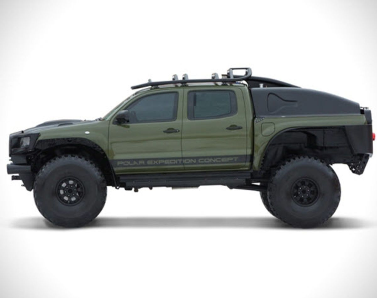 Hot 2010 toyota tacoma polar expedition concept is for sale