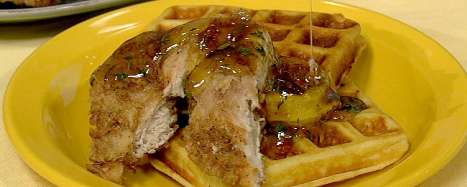 Chicken and waffles recipe by carla hall the chew