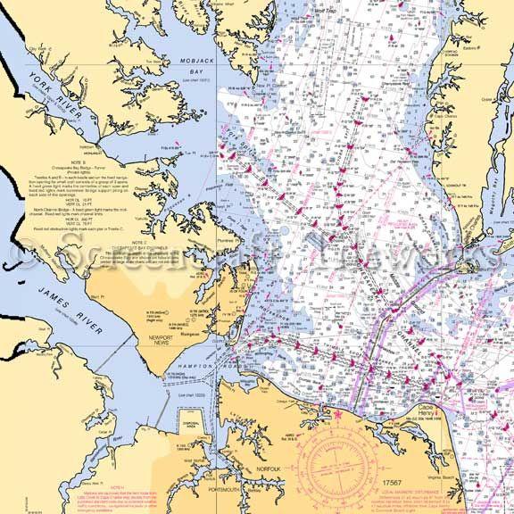 Hayes Virginia Map.Virginia Hayes Virginia Beach Chesapeake Bay Nautical Chart